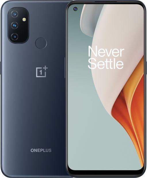 OnePlus Nord N100 Midnight Frost, 6.52 , IPS LCD, 720 x 1600 pixels, Qualcomm SM4250 Snapdragon 460, Internal RAM 4 GB, 64 GB, Dual SIM, Nan Mobilais Telefons