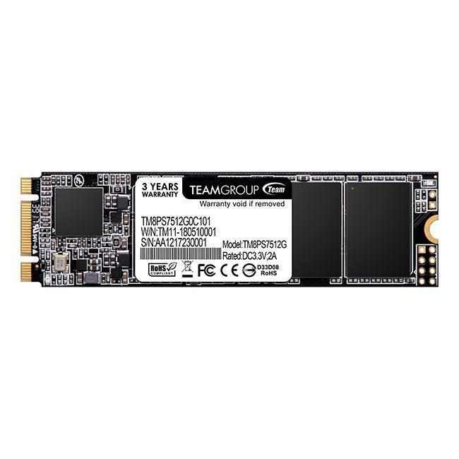 Team Group SSD MS30 512GB M.2 SATA, 550/480 MB/s SSD disks