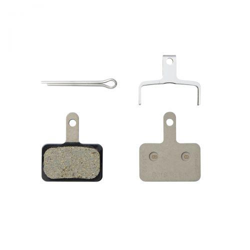 Shimano B01S Disc Brake Resin Pad incl.Spring/Split Pin WorkShop