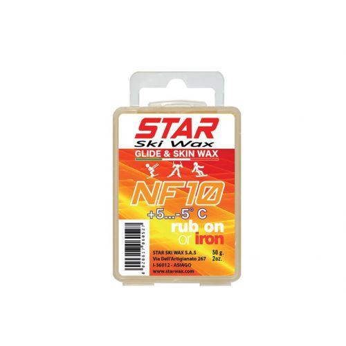 Star Ski Wax NF 10 [+5 / -5 C°] Glide & Skin Wax 50g Sporta aksesuāri