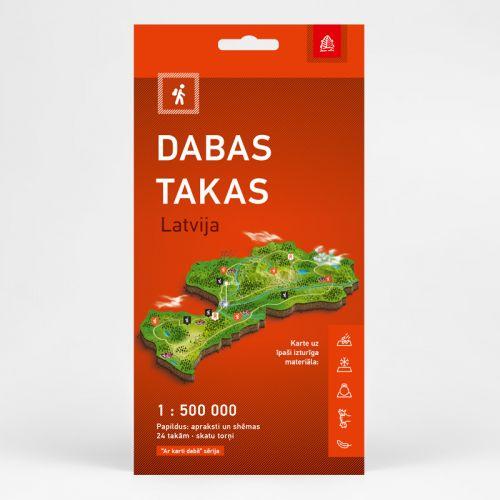 Jāņa Sēta Dabas takas Latvija. Aktīvā tūrisma karte Literatūra