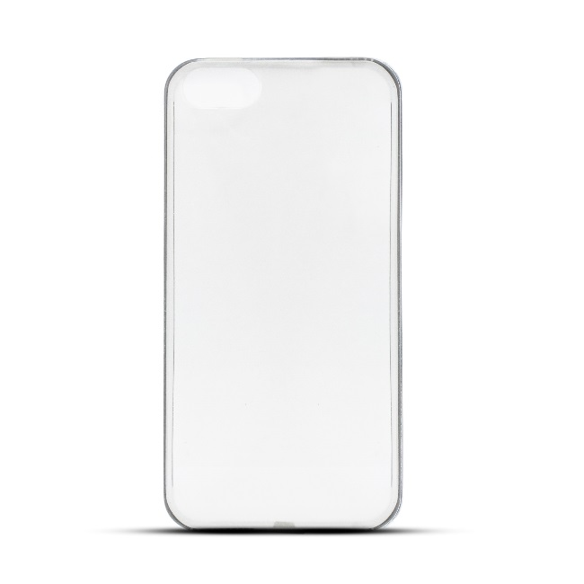 Telone Ultra Slim 0.3mm Back Case Apple iPhone 5 5S super plāns telefona apvalks Caurspīdīgs maciņš, apvalks mobilajam telefonam