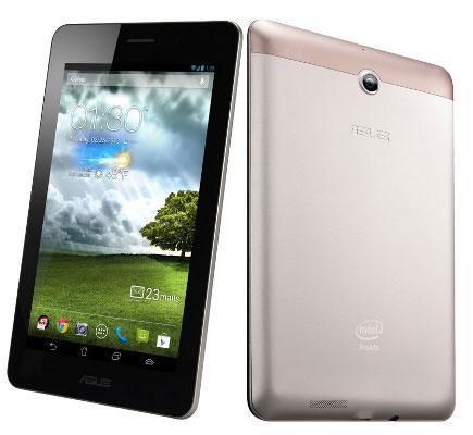 Asus Fonepad K004 7/Z2420/16GB/1GB/3G/GPS/ANDROID4.1/GOLD (ME371MG-1I068A) (Lietots, garantija 3 mēneši) Planšetdators