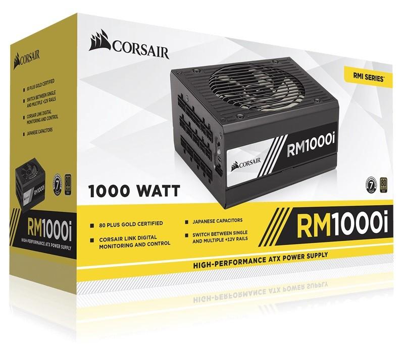 CORSAIR Enthusiast Gold Series RM1000i Barošanas bloks, PSU