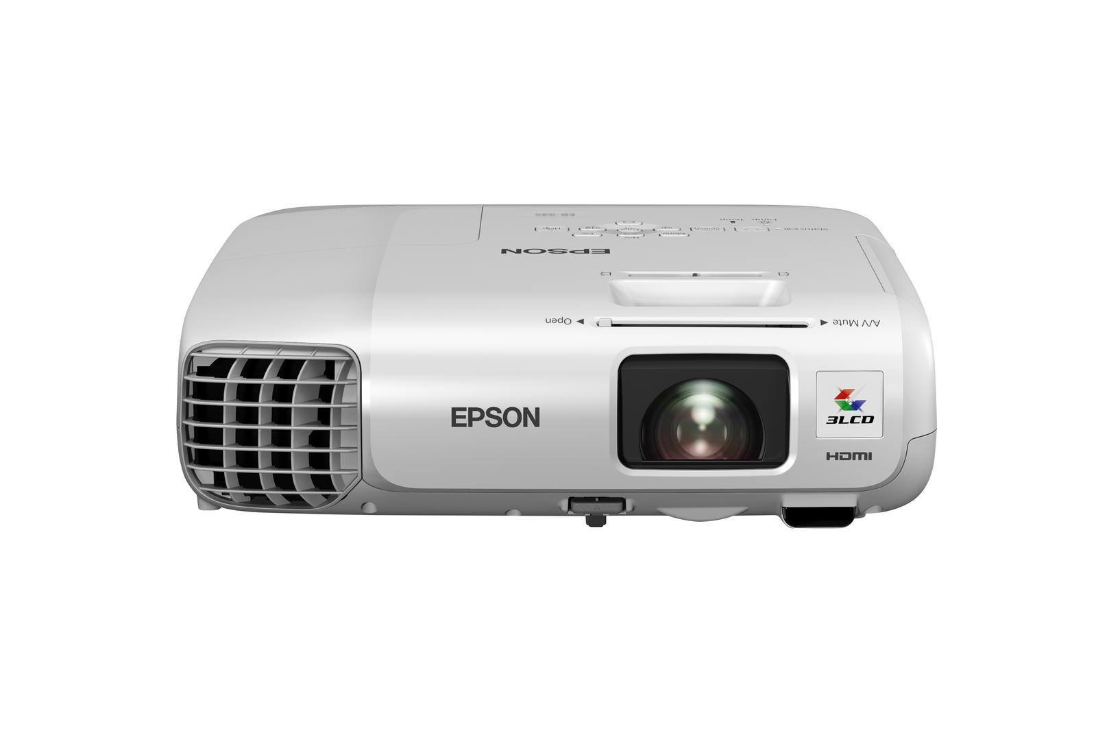 EPSON EB-965H XGA, 3500 Lumen, 10 000:1 projektors