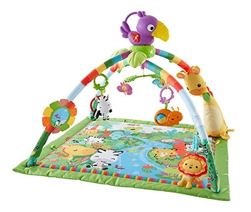 Fisher Price Gym Mat Rainforest Music & Lights Deluxe