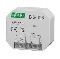 F&F Bistable relay 1 NO 16A 230V AC BIS-408i