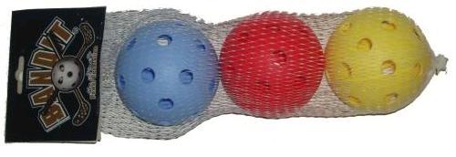 Florbola bumbinu komplekts 3 gab/iep. piederumi florbolam