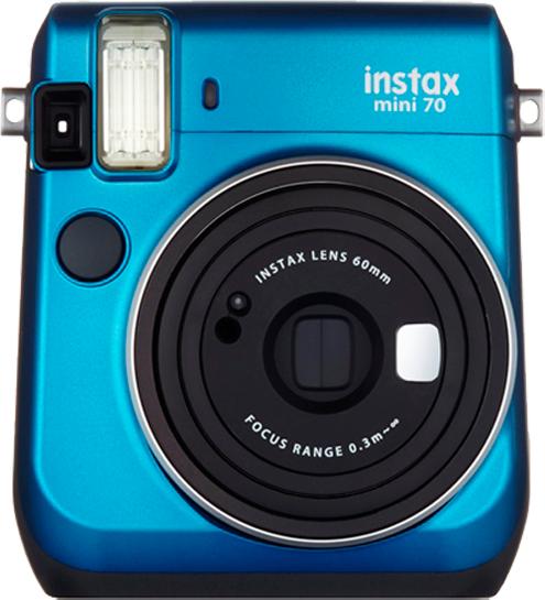 Fujifilm Instax Mini 70 Blue Digitālā kamera