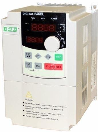 F&F Falownik 1-fazowy 3x230V 1,5kW FA-1LX015 FA-1LX015 auto akumulatoru lādētājs