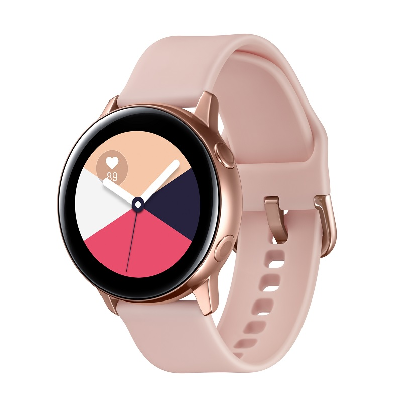 Samsung Galaxy Watch Active R500 Rose Gold Viedais pulkstenis, smartwatch