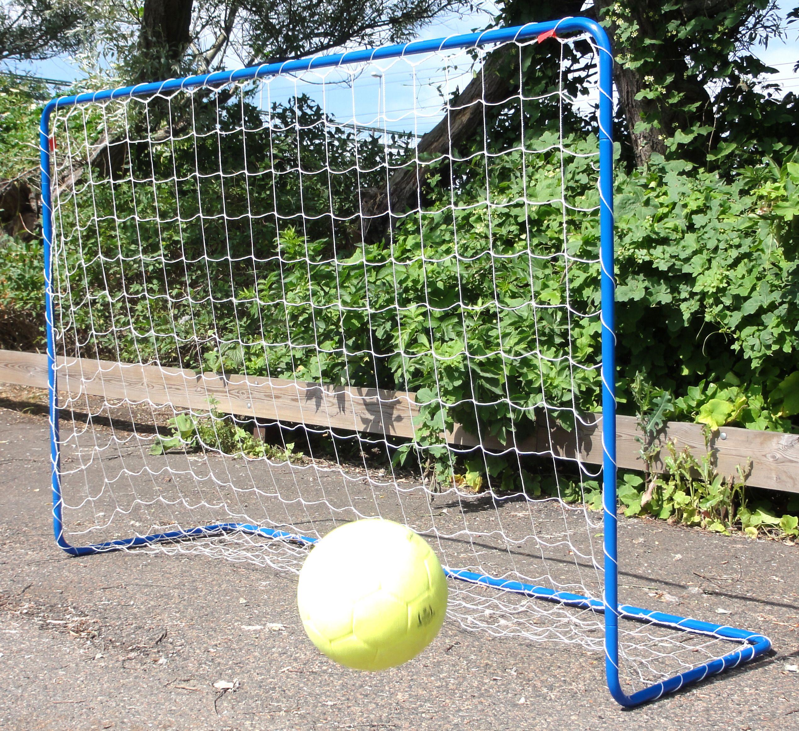 Varti futbola ar tiklu, zili,180x120x60cm piederumi florbolam