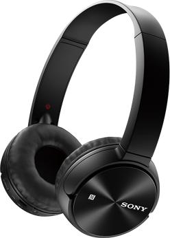 Izpārdošana!!! - Sony MDR-ZX330BT Bluetooth/NFC Black austiņas