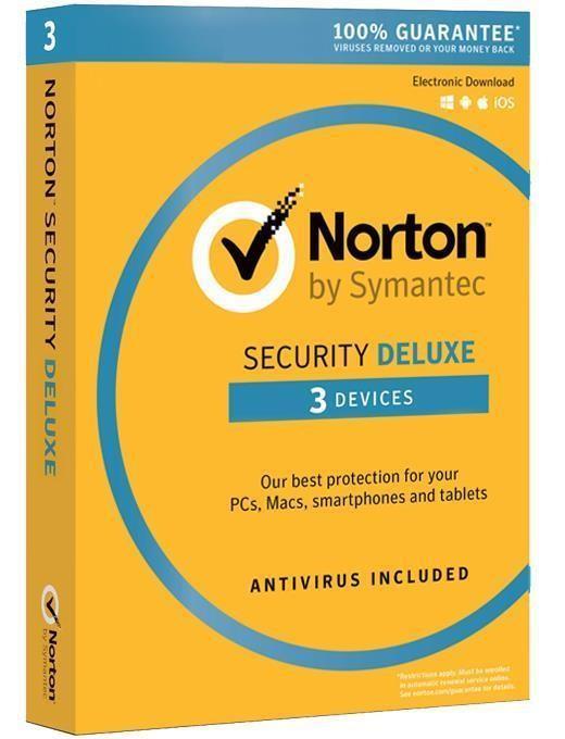 Norton Sec.3.0 DELUX PL CARD 1U 3Dvc 1Y 2135759
