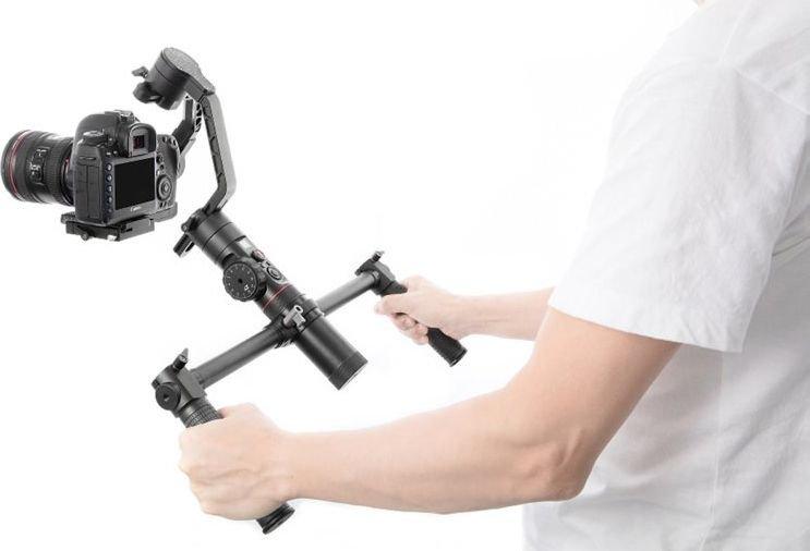 Zhiyun Dual Handle EH001 for Crane Plus foto, video aksesuāri