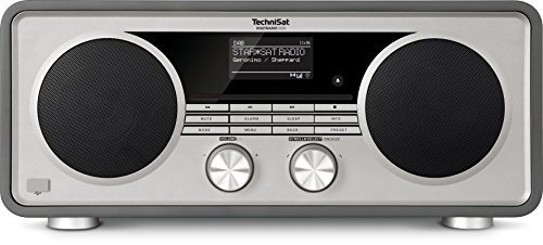 TechniSat Digitradio 600 DAB+ Digitalradio anthrazit magnetola