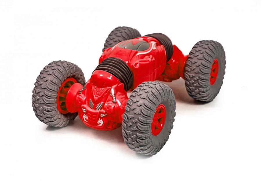 TPC Mini Twist Car 1:18 2.4GHz, RTR - red Radiovadāmā rotaļlieta