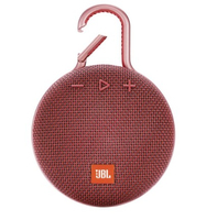 JBL Clip 3, water proof, IPX7, red pārnēsājamais skaļrunis