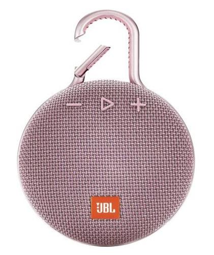 JBL Clip 3, water proof, IPX7, pink pārnēsājamais skaļrunis