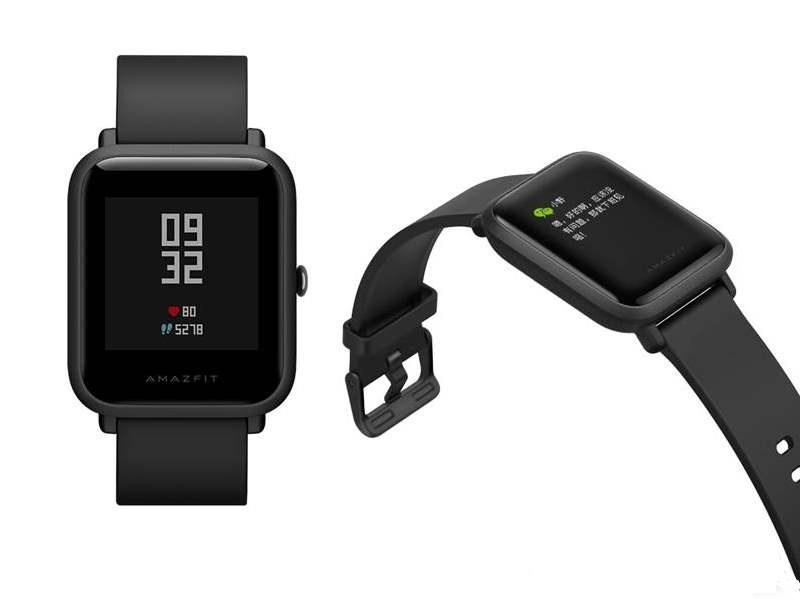 Xiaomi AMAZFIT Bip black Viedais pulkstenis, smartwatch
