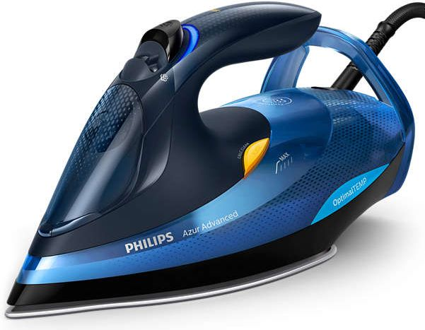 Philips Azur Advanced GC4932/20 (2600W; blue color) Gludeklis