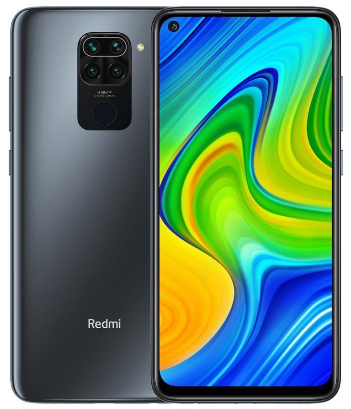 MOBILE PHONE REDMI NOTE 9/128GB BLACK MZB07Y8EU XIAOMI MZB07Y8EU Mobilais Telefons