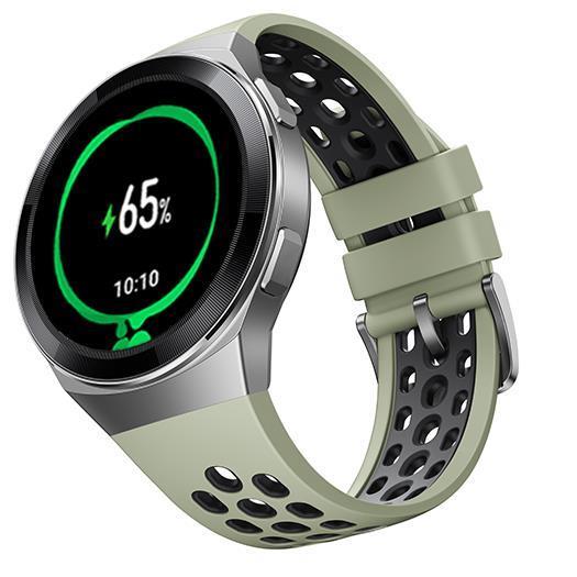 Huawei  Watch GT 2e 46mm HTC-B19 Mint Green Viedais pulkstenis, smartwatch
