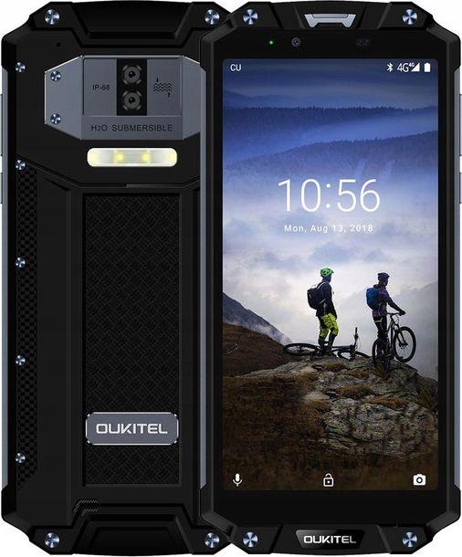 Smartfon Oukitel WP2 64 GB Dual SIM Czarny  (WP2-BK/OL) WP2-BK/OL Mobilais Telefons