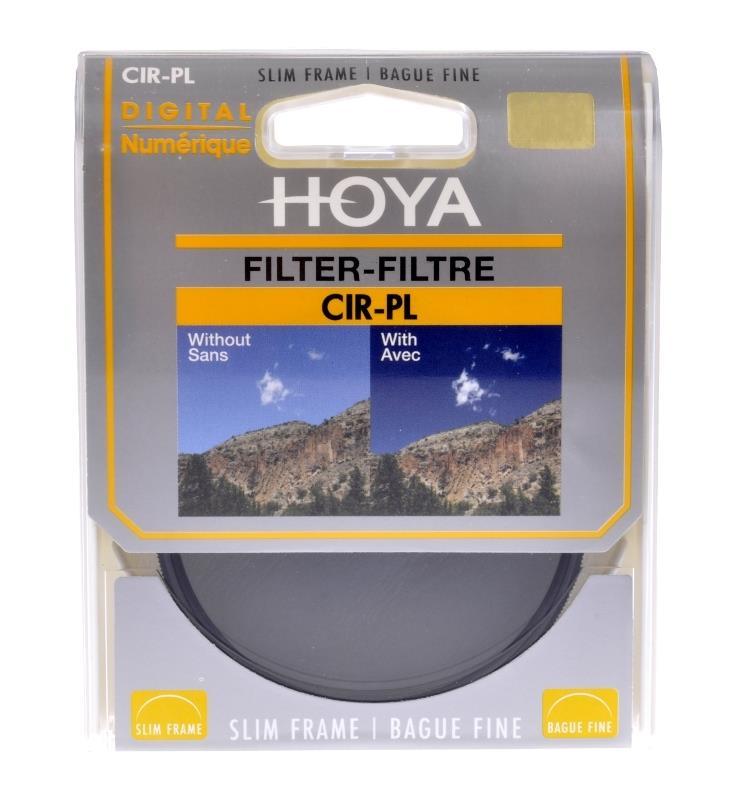 Hoya PL-CIR 62 MM SLIM (HOYA-PLC62P-SLIM) UV Filtrs