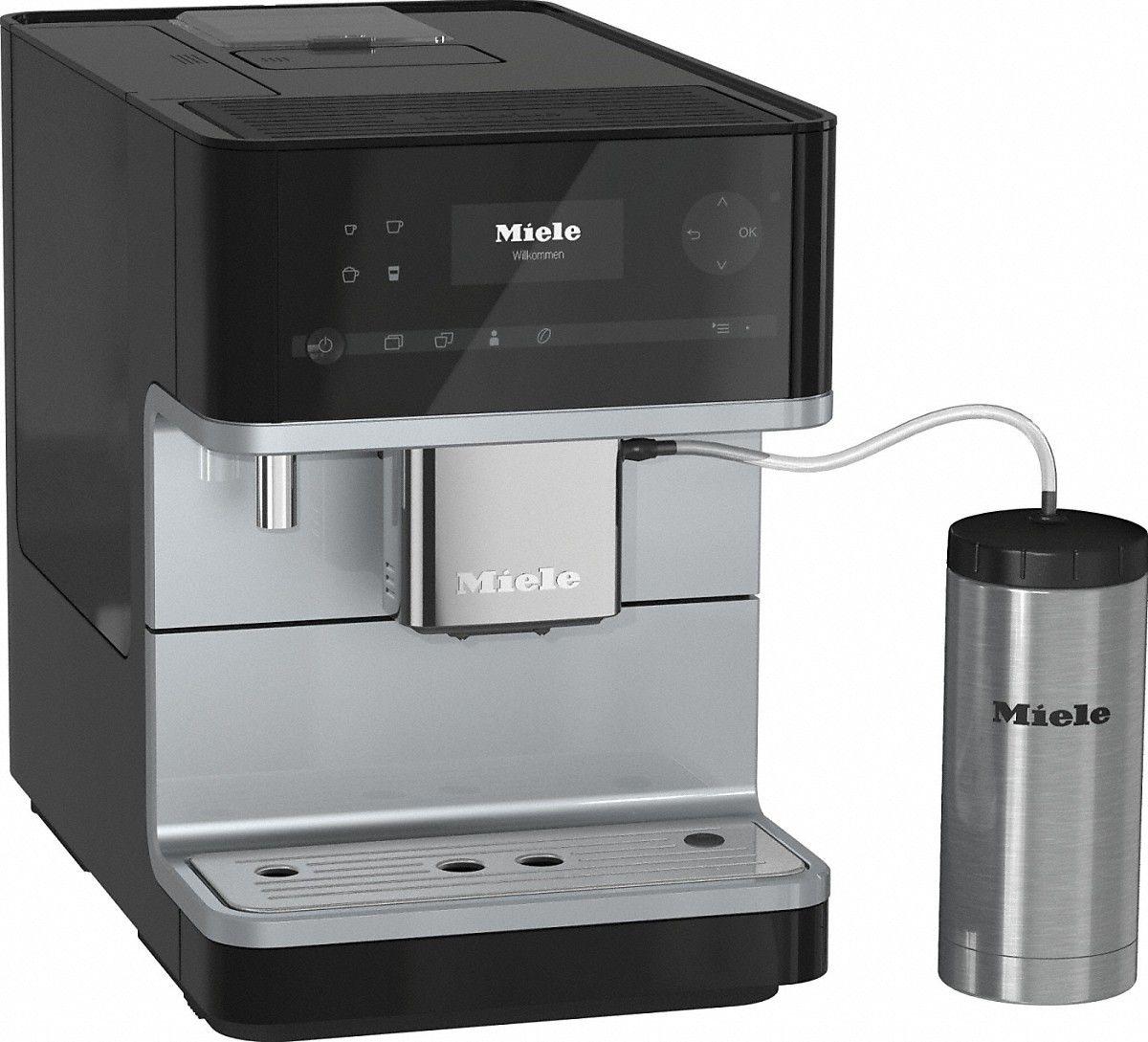 Ekspres cisnieniowy Miele Black CM 6350 (10516420) Kafijas automāts