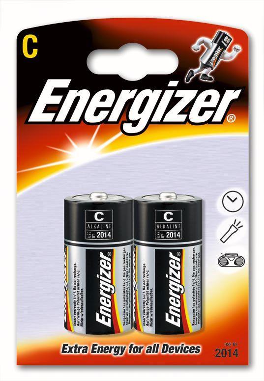 Battery, ENERGIZER Base Power Seal, C, LR14, 1.5V, 2 pcs