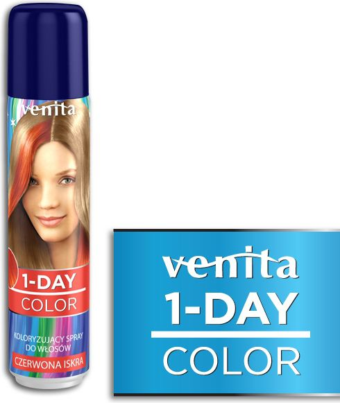 Venita 1-Day color spray 4 Czerwona Iskr V1603