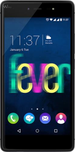 Smartfon Wiko Fever Czarno-szary Mobilais Telefons