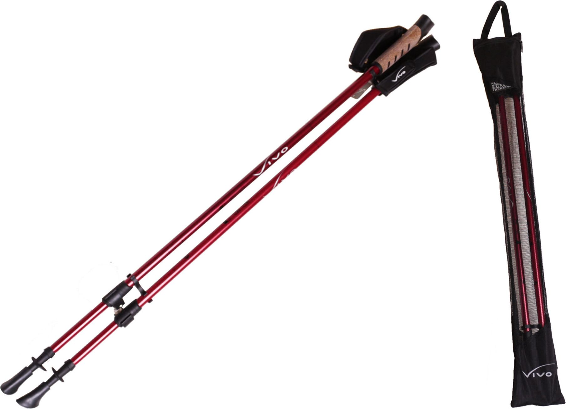 VIVO Nordic Walking Poles NW203 red (4575803)
