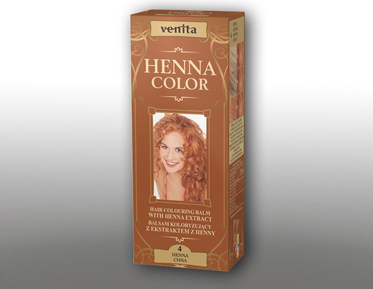 Venita Ziolowe Balsamy Henna Color 4 Chna 75ml V1084