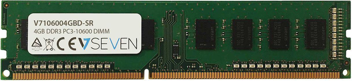 V7 DDR3, 4 GB, 1333MHz, CL 9 (V7106004GBD-SR) operatīvā atmiņa