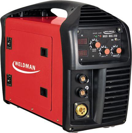 Weldman Semiautomatic welding inverter MIDI MIG 220A 230V (103 111)