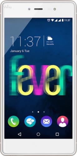 Smartfon Wiko Fever Bialo-zloty Mobilais Telefons