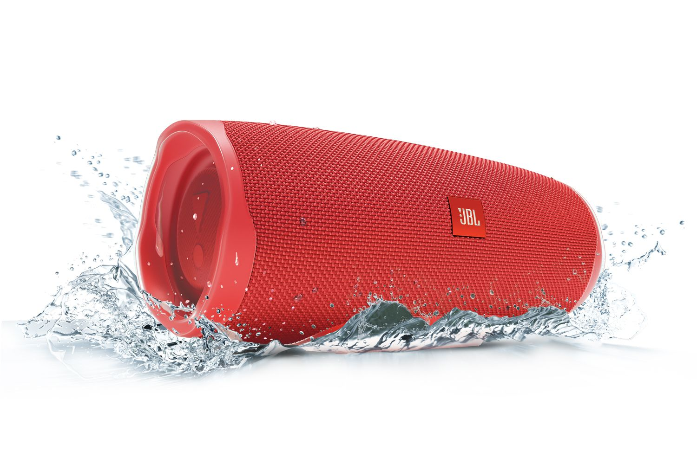 JBL ūdensizturīga portatīvā skanda, sarkana JBLCHARGE4RED pārnēsājamais skaļrunis