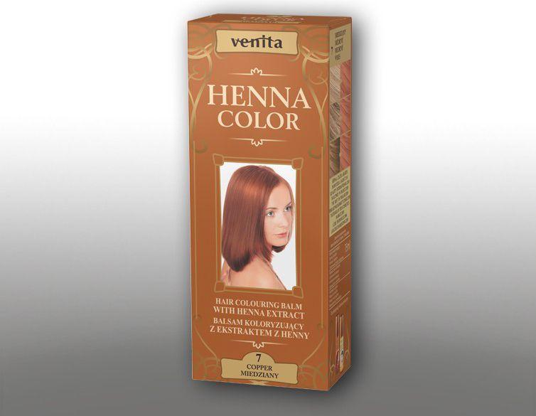 Venita Ziolowe Balsamy Henna Color 7 Miedziany 75ml V1087