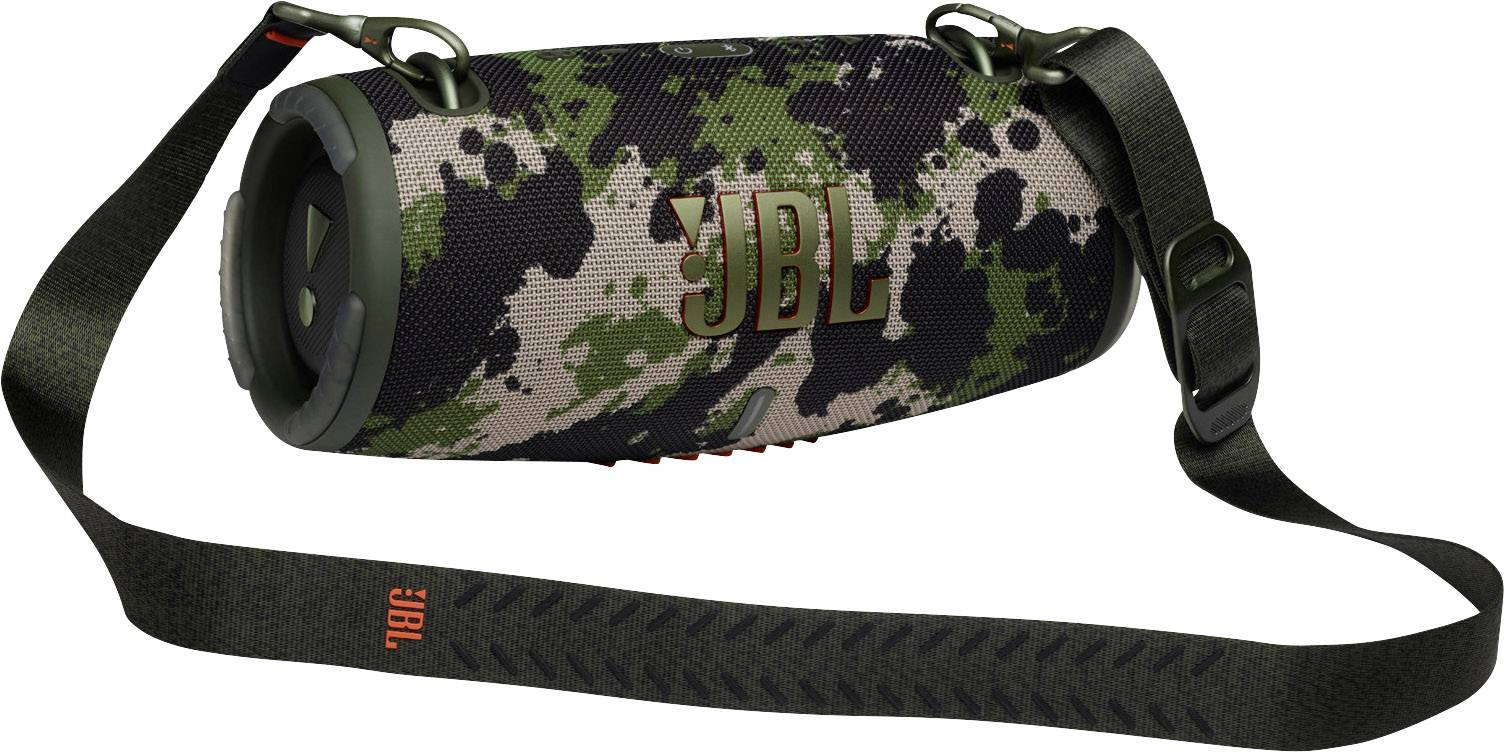 JBL XTREME 3, portable speaker with Bluetooth, built-in battery, IP67, Partyboost and strap, Camo pārnēsājamais skaļrunis