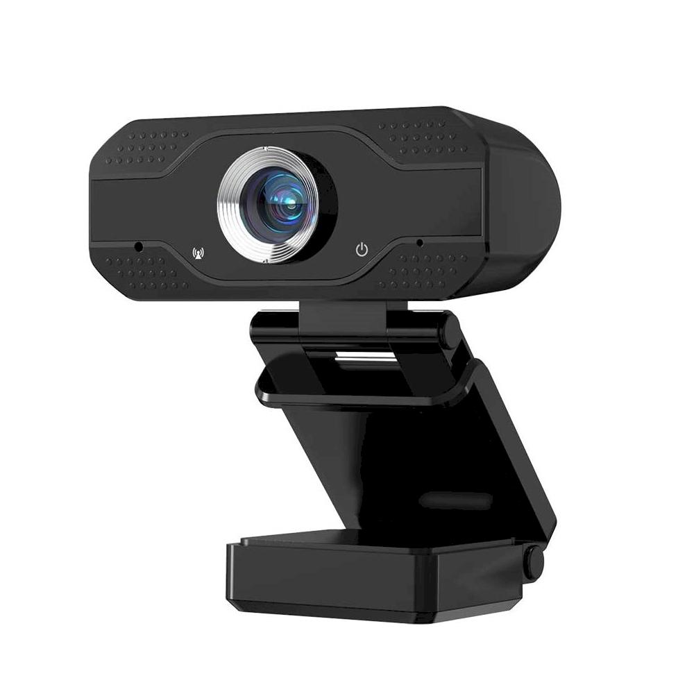 Fusion 1080P WEB Kamera ar Mikrofonu USB 2.0 Melna web kamera