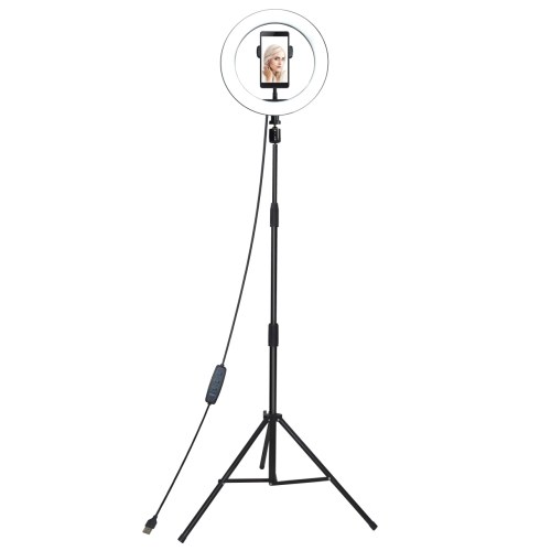 Vakoss LED Ring Light LD-G320K for selfie and makeup with a tripod foto, video aksesuāri
