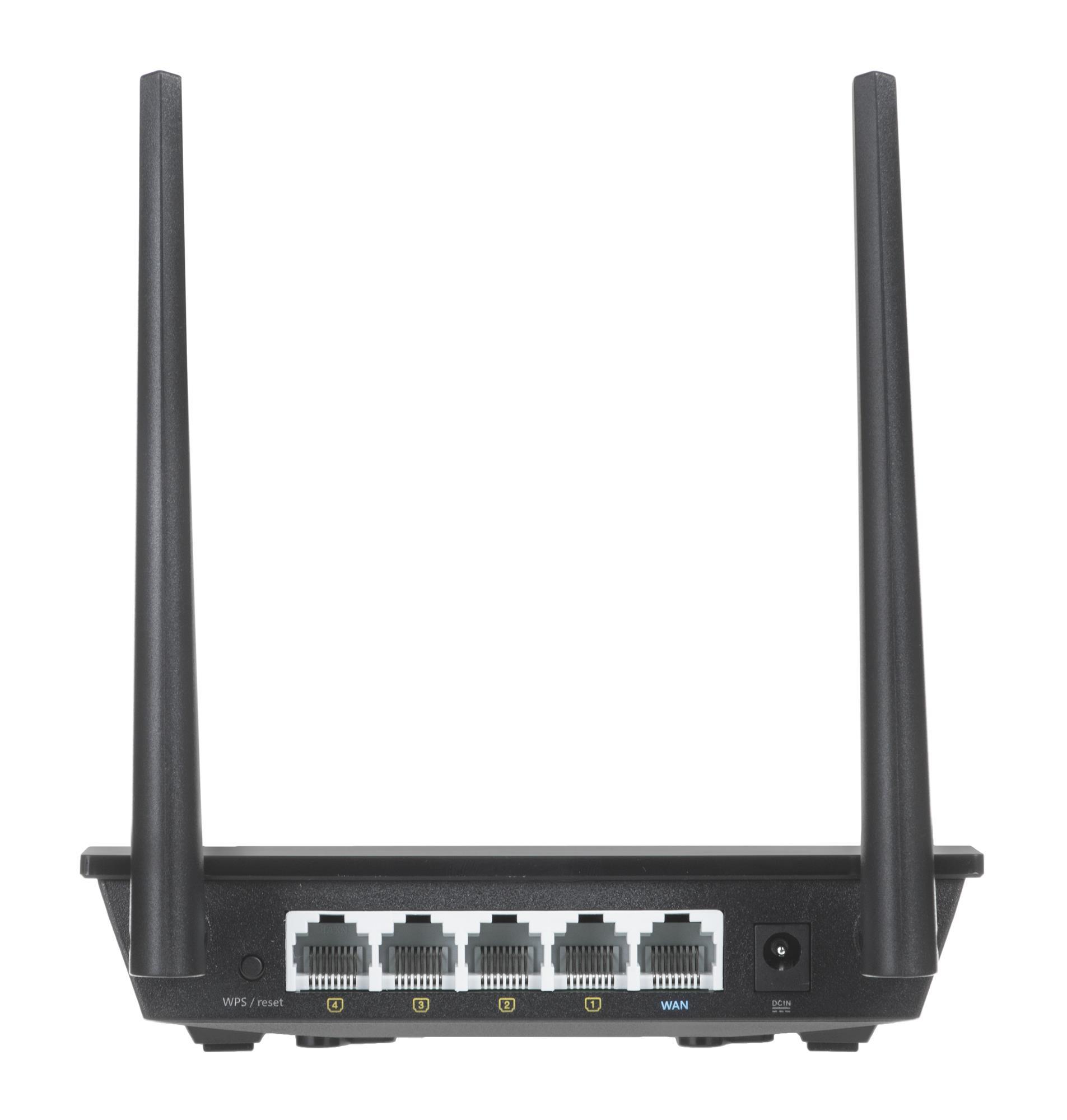ASUS RT-N12PLUS 2.4 GHz WiFi Rūteris