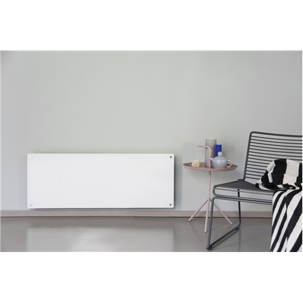 Mill Glass MB1200DN Panel Heater, 1200 W, Suitable for rooms up to 18 m², White 7090019821621
