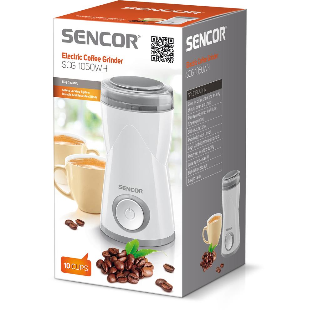 Sencor SCG 1050Wh Kafijas dzirnaviņas