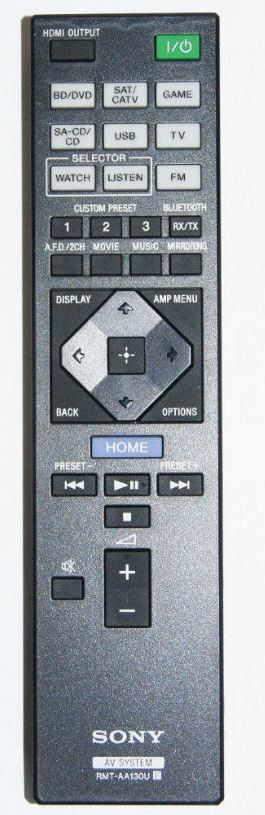 Sony Remote Commander (RMT-AA130U) pults