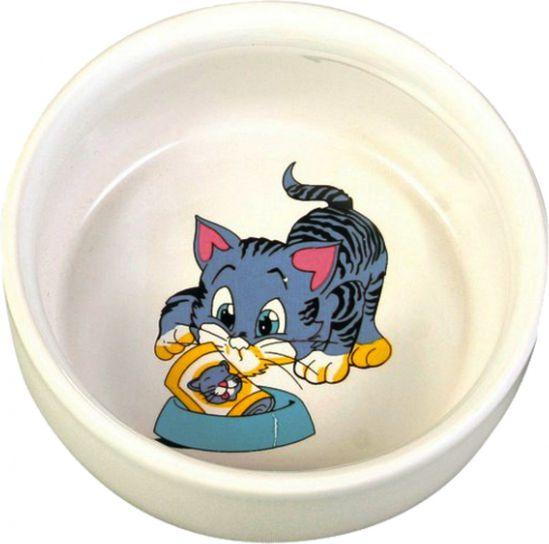 Trixie TX-4009 MISKA CERAMICZNA 11 CM/0.3L 4011905040097 piederumi kaķiem