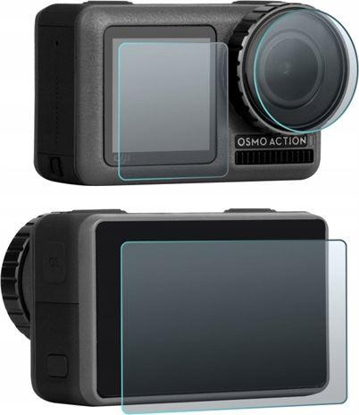 SunnyLife Lens Cover 2x Lcd Screen For Dji Osmo Action Sporta kameru aksesuāri