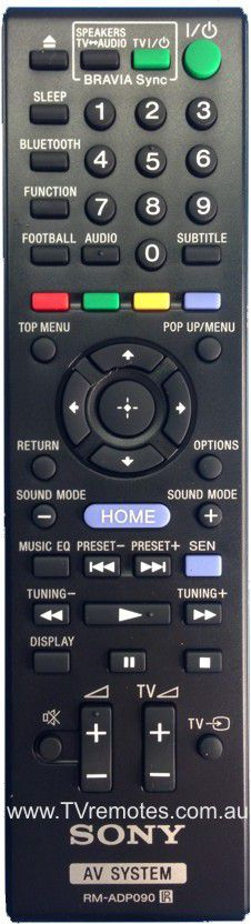Sony Remote Commander (RM-ADP090) pults